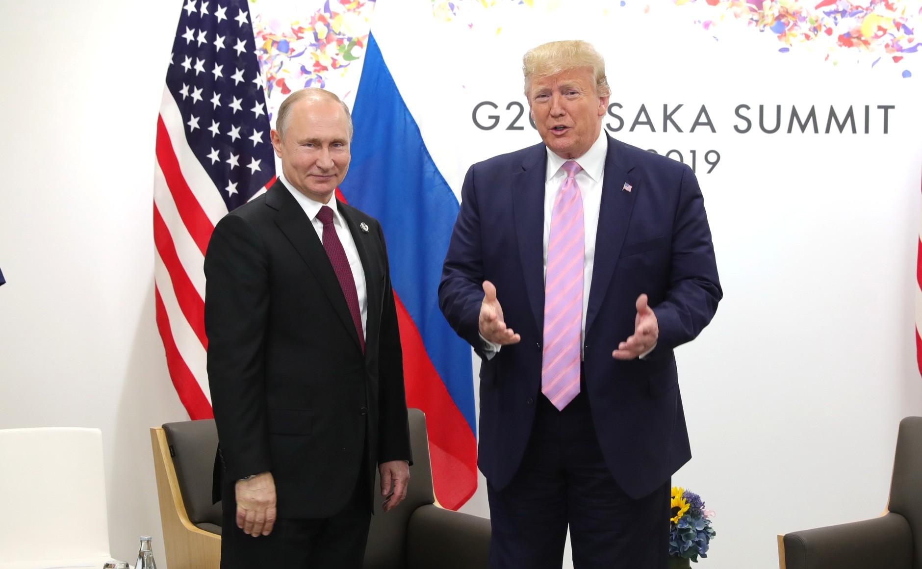 Путин отказался от помощи США в тушении пожаров в Сибири