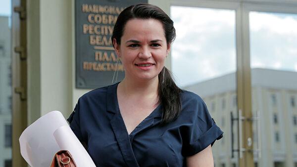 В Минске прошел многотысячный митинг в поддержку Тихоновской