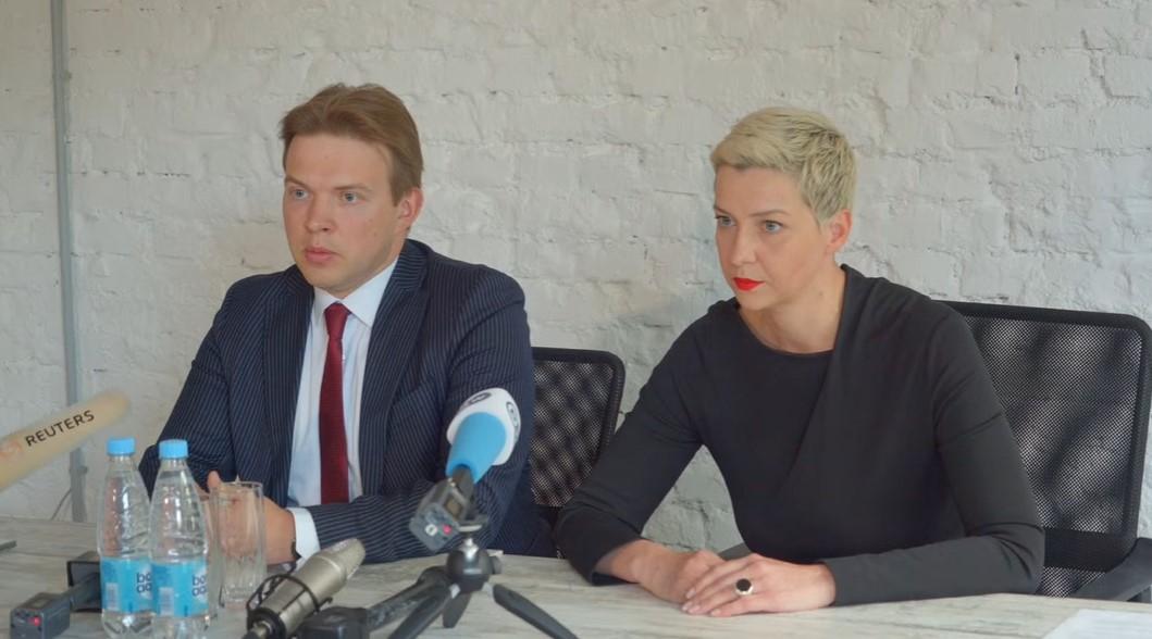 Лидера оппозиции в Беларуси обвиняют в попытке захвата власти