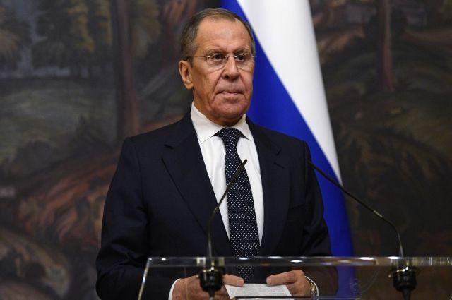 Сергей Лавров выступил на Генассамблее ООН