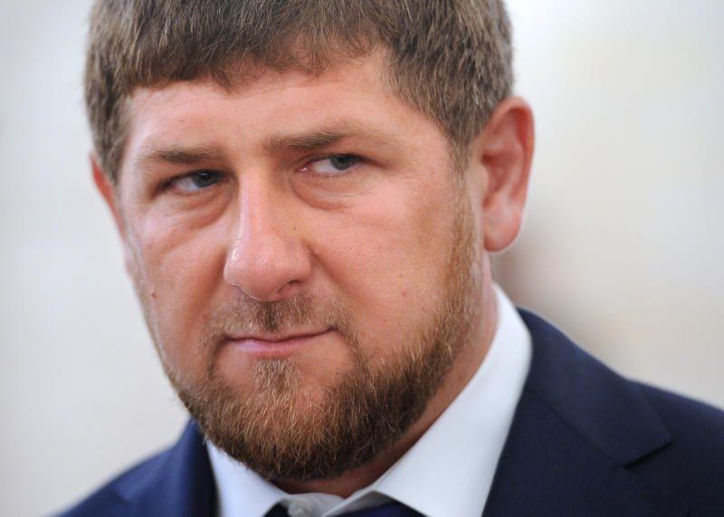 В детском центре в Чечне на стенах нарисовали изображение отца Кадырова