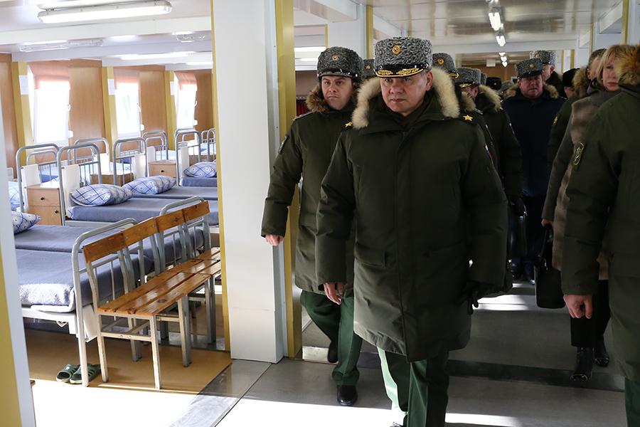 В начале недели в Омск прибудет Сергей Шойгу