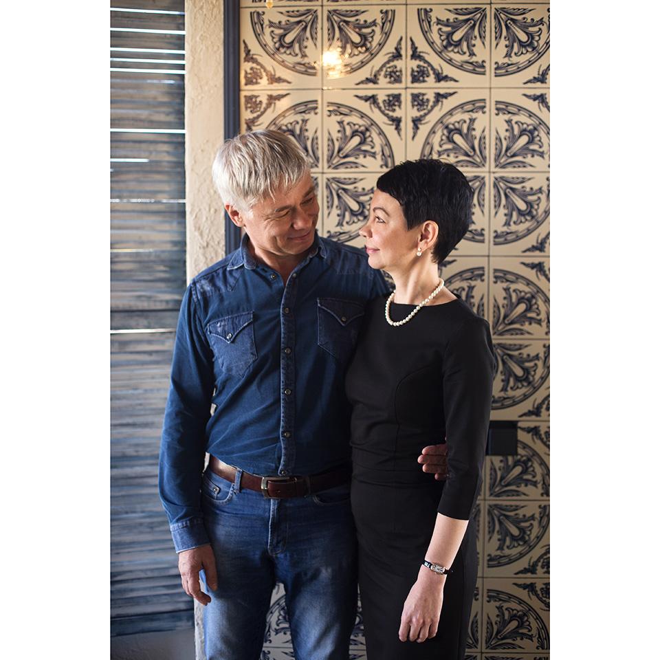 Юлия Купрейкина и муж