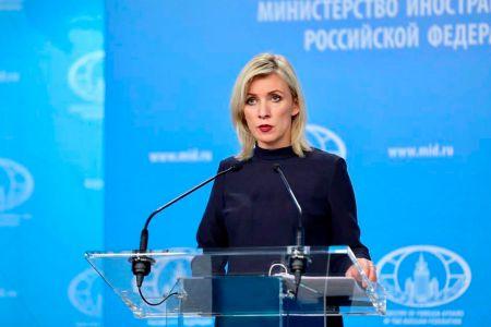Мария Захарова о грузинских журналистках – «вы больные, девочки»