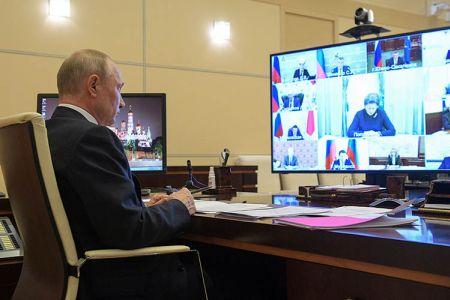 Совещание Путина по коронавирусу состоялось 6 мая