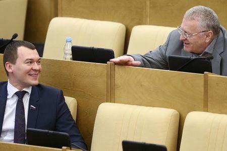 Жириновский выдвинет кандидатуру Дегтярева на выборах на пост губернатора Хабаровского края