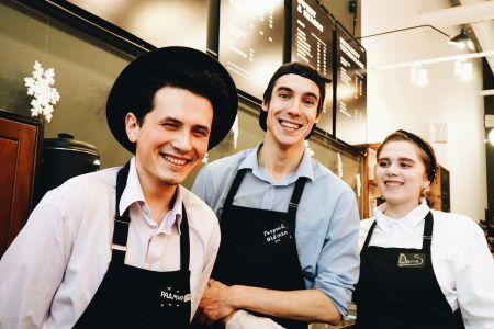 Благотворительная акция в день 10летия компании Skuratov Coffee.