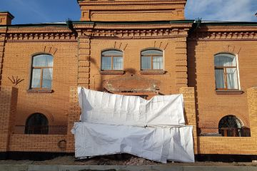 Омская епархия сломала памятник культуры и заявила, что он обрушился сам