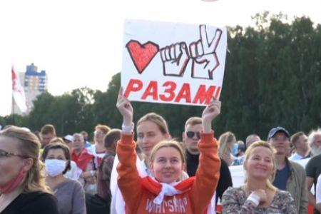 Минск стал вторым майданом?