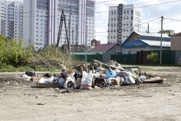 Пришла весна – цветёт и пахнет…мусор.