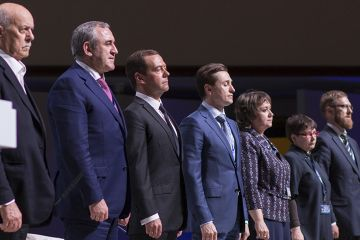 Большой день для всех Омичей. Приезд Дмитрия Медведева.
