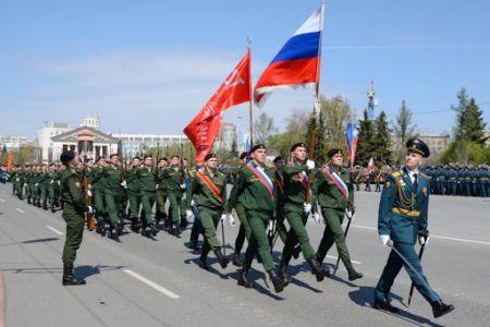 Парад Победы в Омске пройдет 24 июня