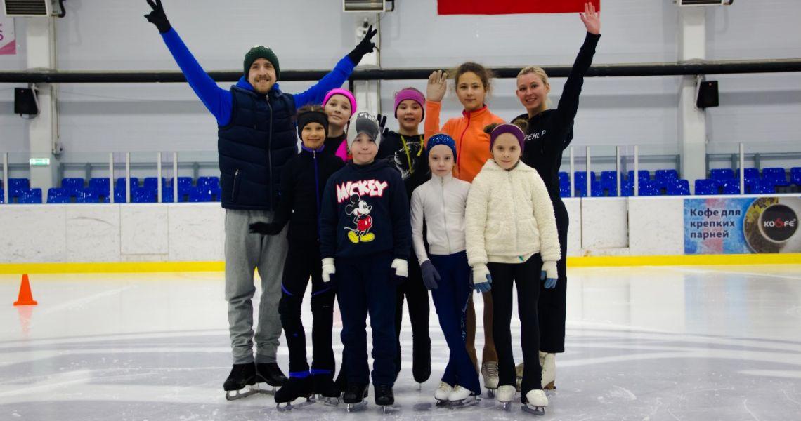 В Омске пройдут сборы для фигуристов при участии звёздных тренеров