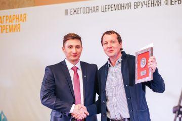 Первая Аграрная премия. Константин Аникин.