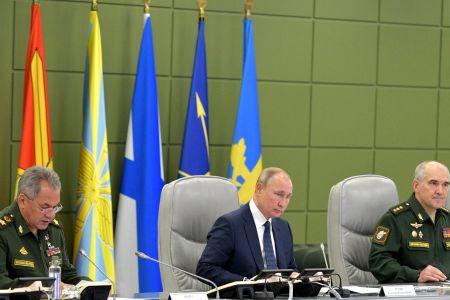 На учениях с участием Путина при запуске ракеты произошел сбой