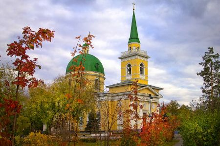 Начался ремонт Казачьего собора в Омске
