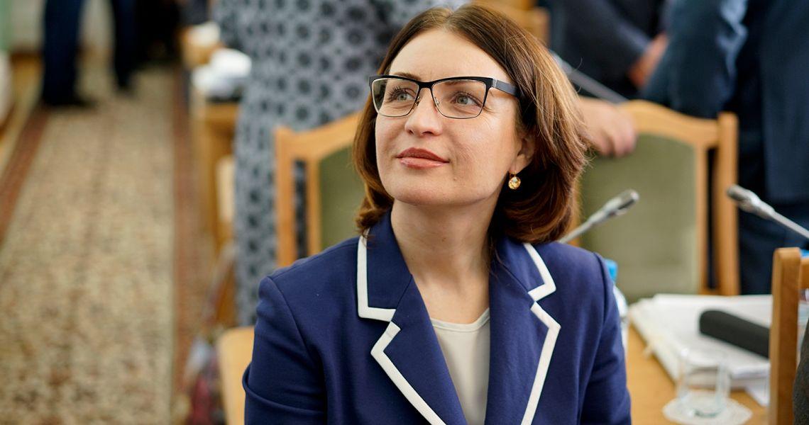Уже в ближайшее время Оксана Фадина может подать в отставку