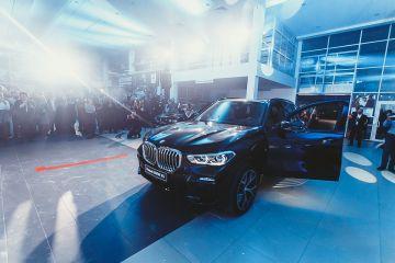 Презентация нового BMW X5 в салоне «Барс»