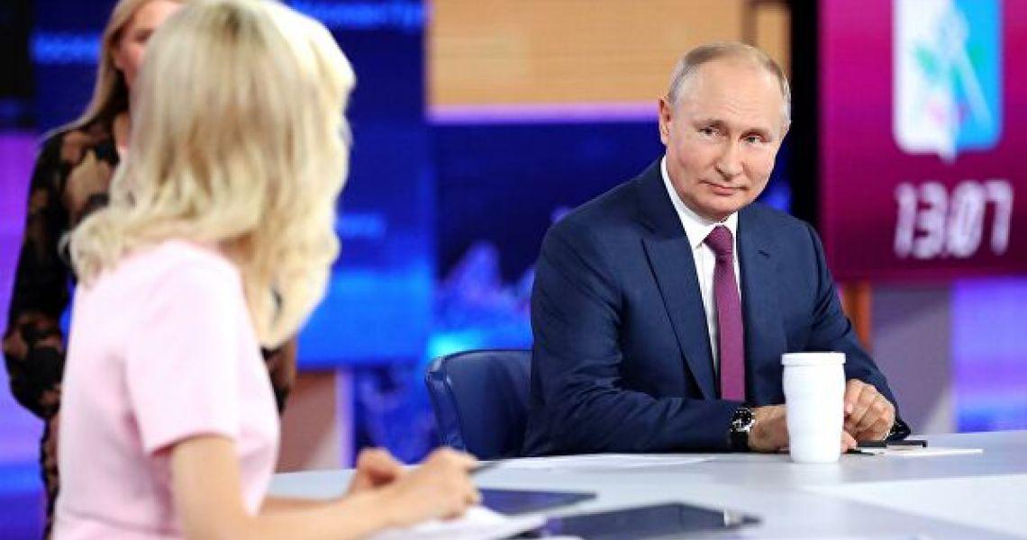 Итоги прямой линии с президентом. Россия в режиме ручной настройки