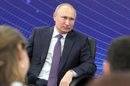 Путин рассказал анекдот в ответ на вопрос о неэффективности госзакупок