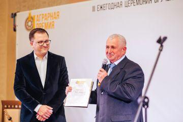 Первая Аграрная премия. Михаил Артемьев.