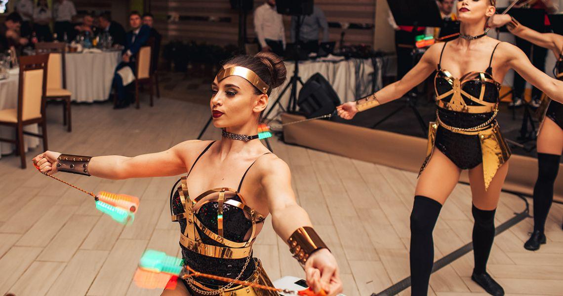 Шоу-балет Crystal: акробатика в танце