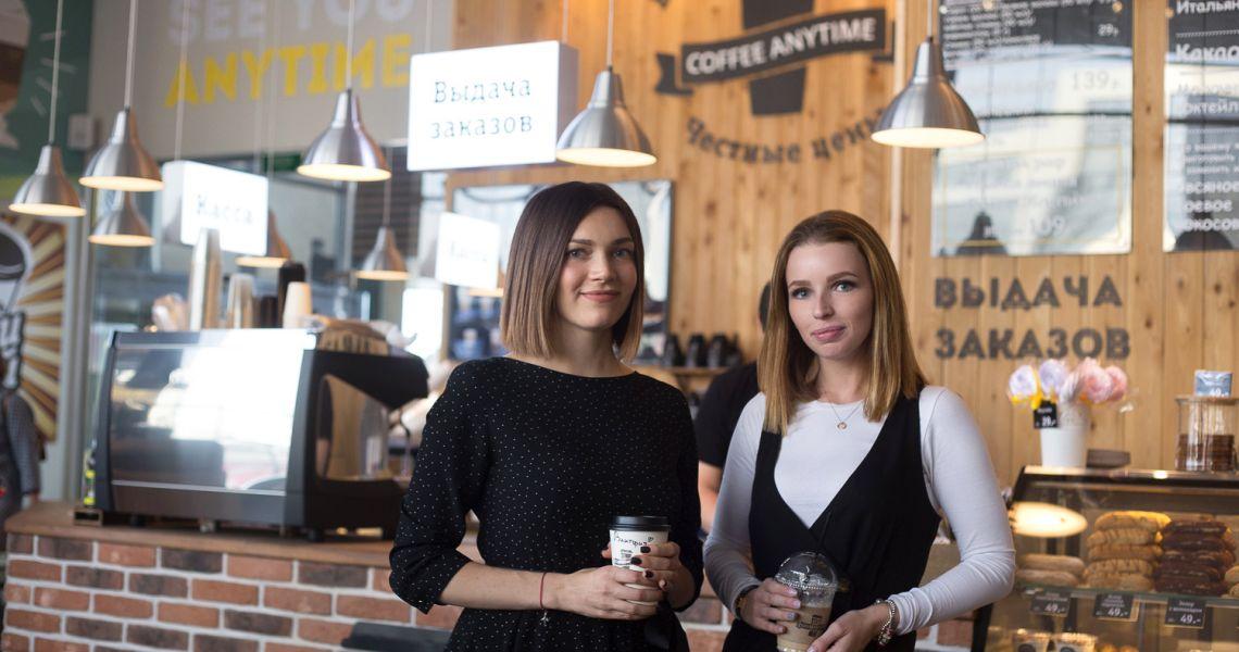 Coffee Anytime. 18 кофеен за 18 месяцев.