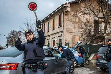 Все население Италии помещено под карантин