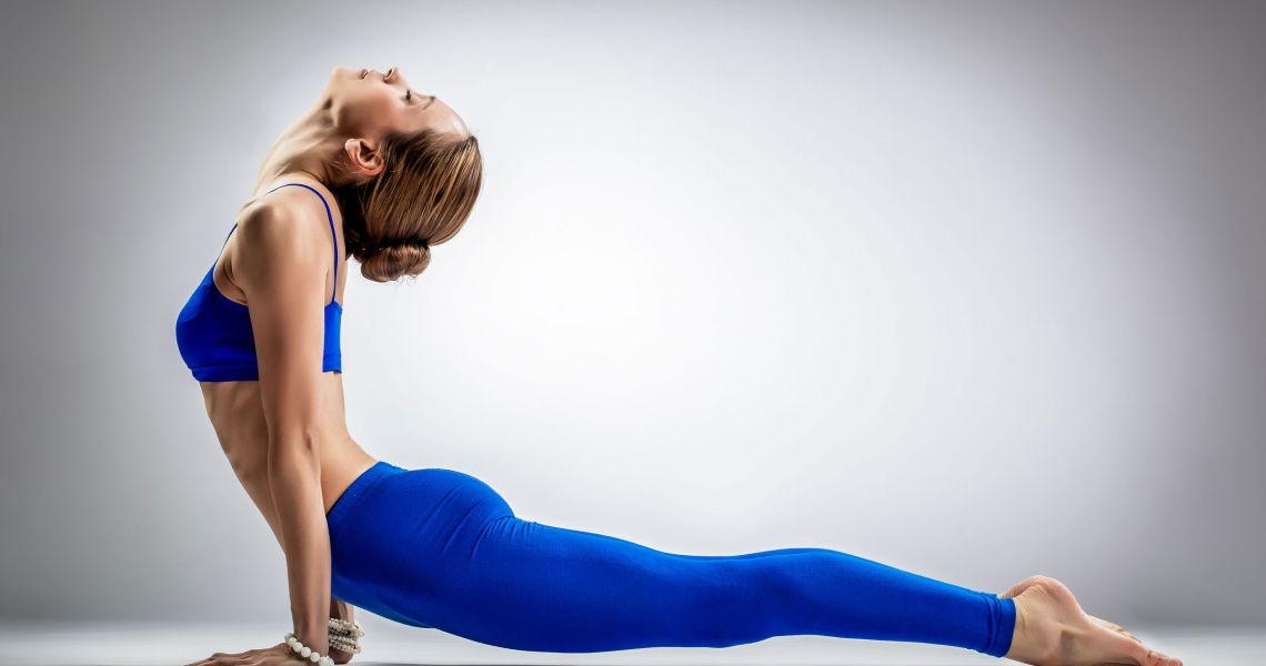 Стройные ноги с помощью йоги